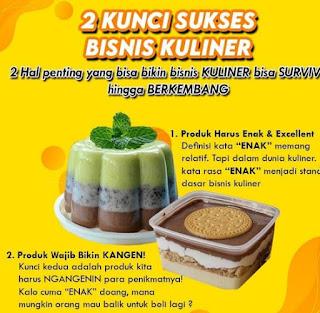 Tips Wirausaha - Mengawali Bisnis Kuliner dari Rumah