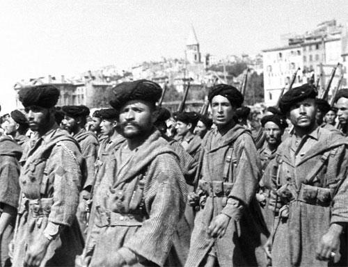 Главные насильники конца Второй мировой