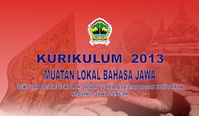 Kurikulum 2013 Mulok Bahasa Jawa SD/MI