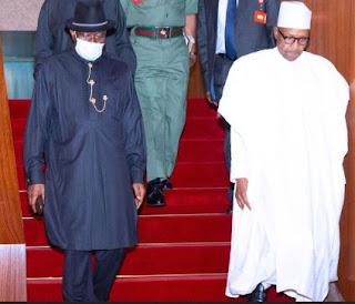 My Relationship With President Buhari Is Okay - Goodluck Jonathan
