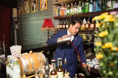 Nguyễn Thành Trung-bartender tài năng trẻ