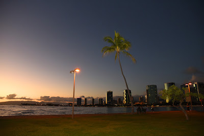 Ala Moana at Night