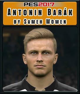 PES 2017 Faces Antonín Barák by Sameh Momen