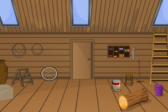 TollFreeGames Wooden Cottage Escape 2 Walkthrough