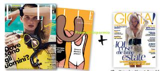 Logo Elle ti regala il settimanale Gioia + supplemento Oroscopo