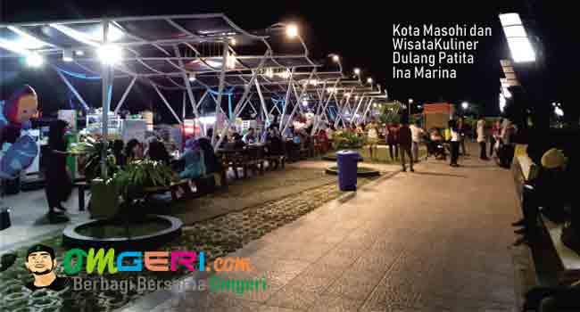 Kota Masohi dan Wisata Kuliner Dulang Patita Ina Marina