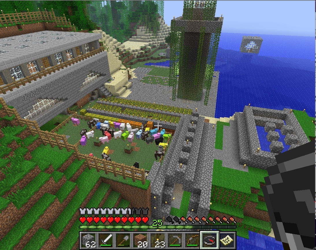 Second Life Newser: Minecraft: Beyond Angels' Village