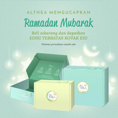 Rayakan Lebaran Bersama ALTHEA! by Jessica Alicia