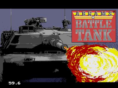 【MD】M-1坦克大戰(M-1 Abrams.Battle.Tank),經典復古坦克遊戲!