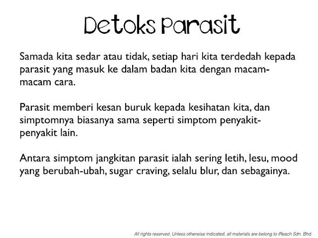 detoks parasit