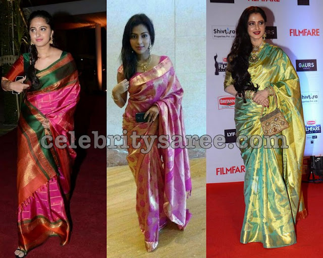 Latest Light Weight Silk Sarees