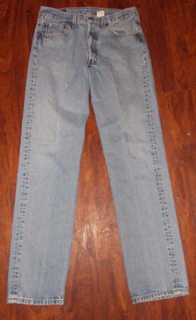 Men's Vintage Levi Strauss Denim Blue Jeans