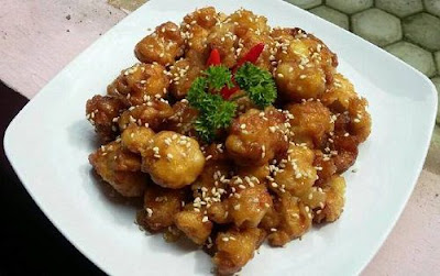 Resep Honey Chicken Popcorn Gurih