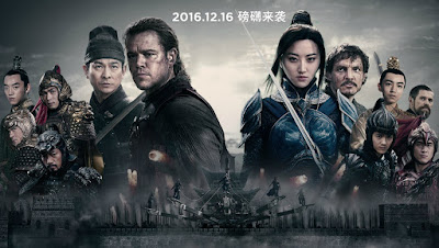 review the great wall, best ke the great wall, sinopsis the great wall, harga tiket the great wall