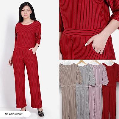 baju jumpsuit natal model terbaru 2018-2019