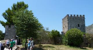 Castillo de la Acrópolis de Butrinto.