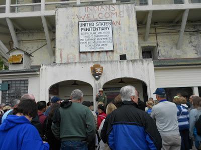 Recepcionados na ilha - Alcatraz