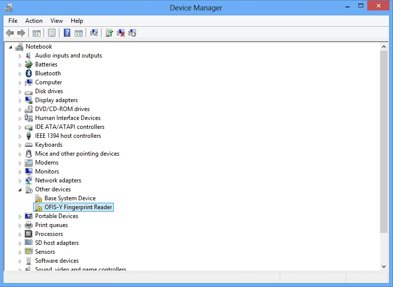 How to Install OFIS Scanner in Windows 8 | FingerTec Technical Blog