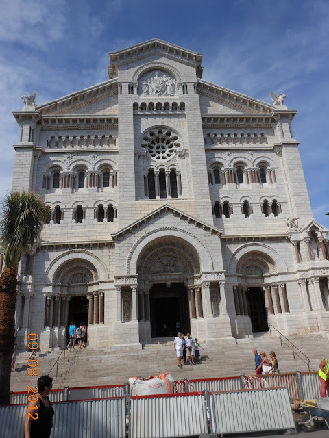 Catedral de Mônaco - Europa - Cidade Antiga - Centro histórico