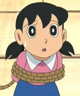Gambar Shizuka yang malang