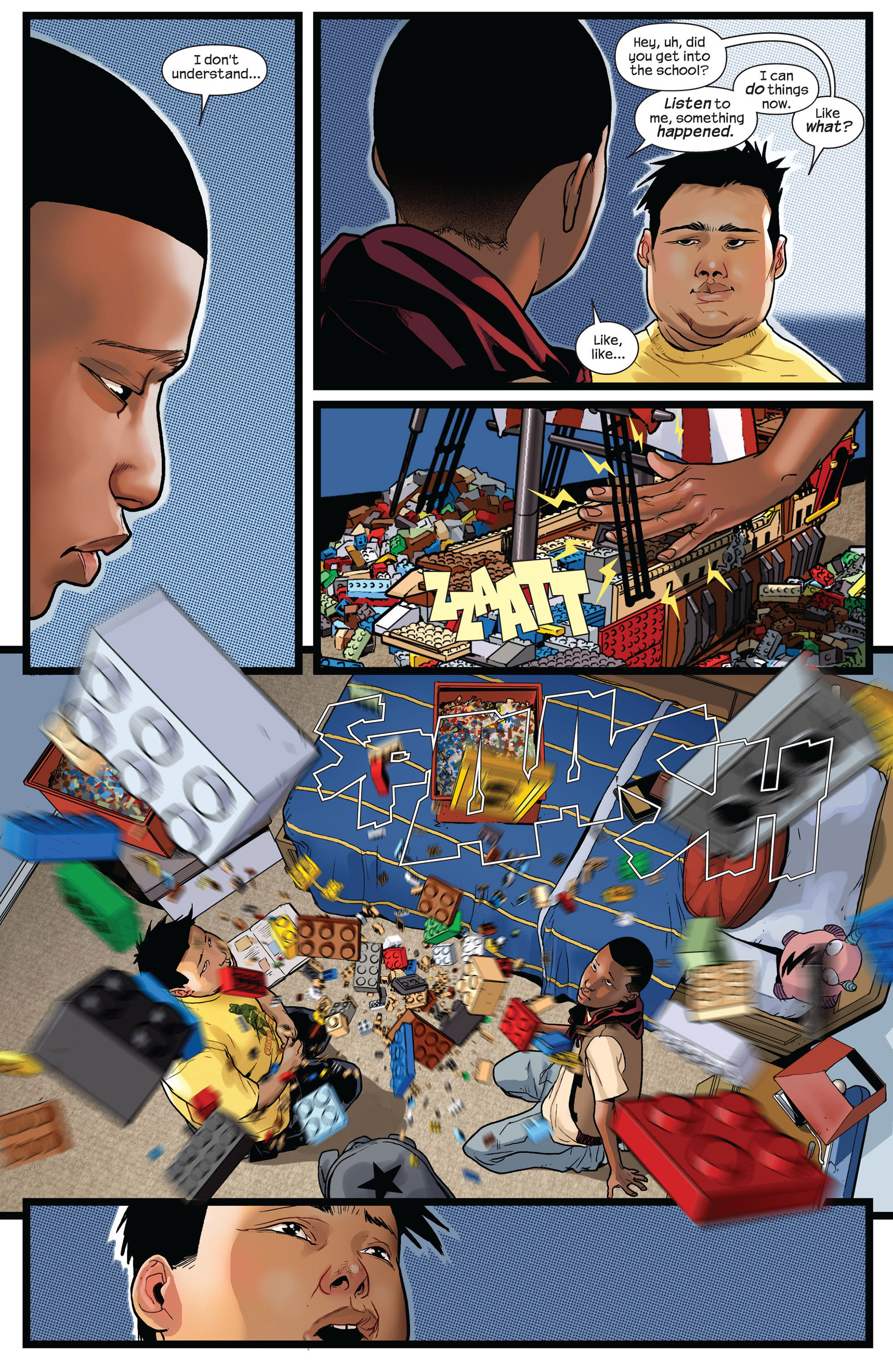 Read online Ultimate Comics Spider-Man (2011) comic -  Issue #2 - 9