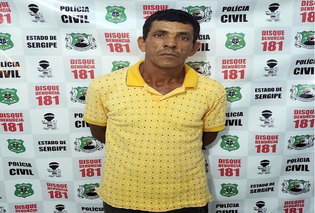Homem que matou esposa com arma branca em Tobias Barreto é preso em flagrante