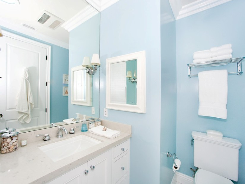 D lerdenizi nilay mavi beyaz uyumu for Bathroom color ideas blue