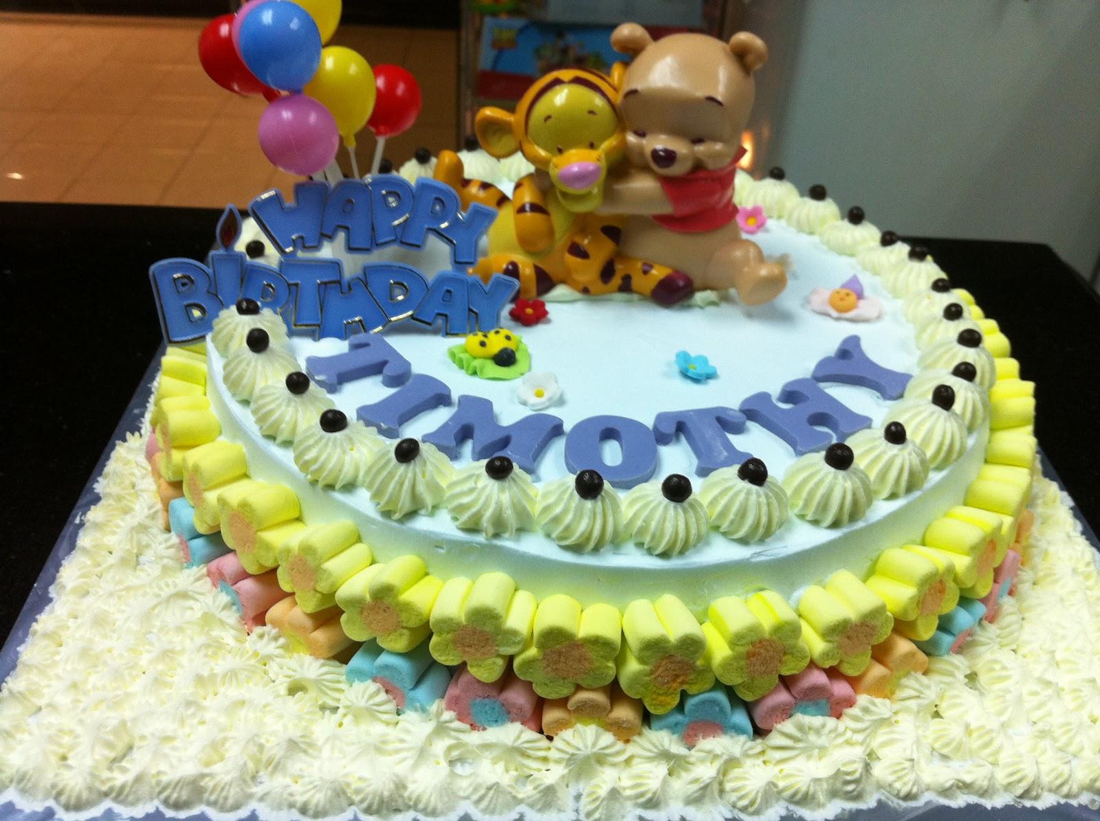 Haven Bakery Timothy Birthday Cake