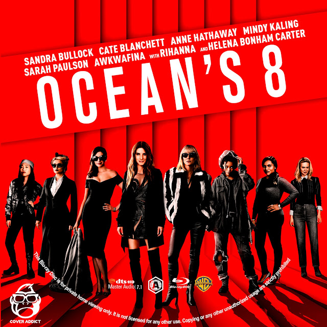 Ocean's Eight Bluray