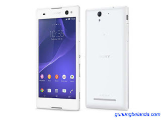 Cara Flashing Sony Xperia C3 D2533