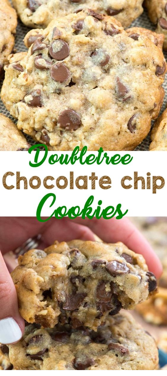 Better Than Doubletree Chocolate Chip Cookies