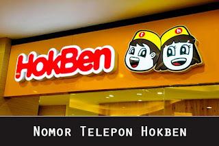 Nomor Telepon Hokben Bebas Pulsa