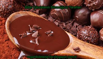 Bitter Çikolatanın Bilmediğiniz Yararları