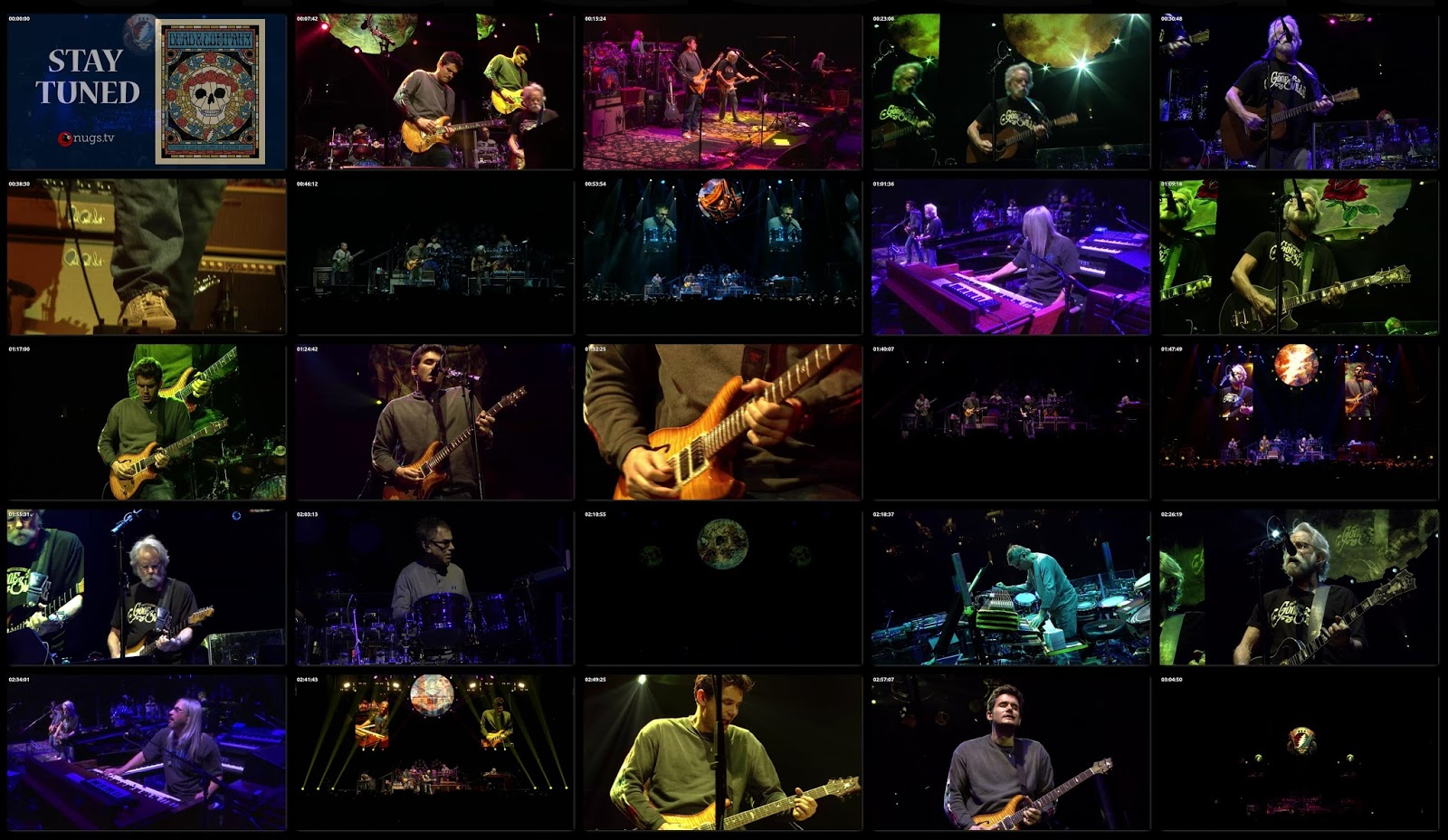 The Curtain With Dead Company 2017 11 28 Spectrum Center Charlotte Nc Webcast Rip