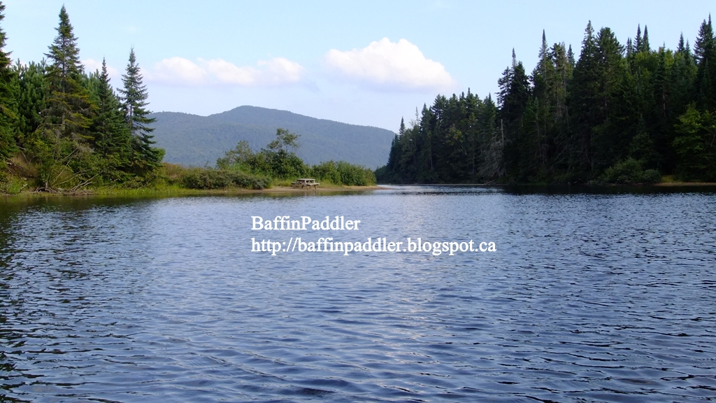 Baffinpaddler august 2012 for Lac miroir mont tremblant