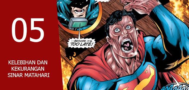 karakter marvel lebih kuat dari superman