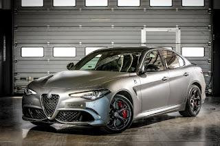 Alfa Romeo Giulia Quadrifoglio NRING (2018) Front Side