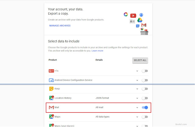 Cara Membuat Backup Data di Gmail