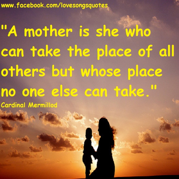 a mother love quotes and songs