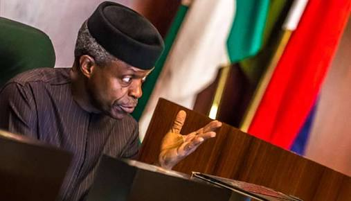 Osinbajo Says No Discrimination In Buhari's Administration