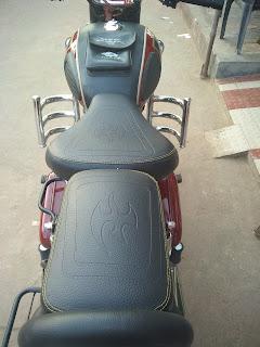 Awe Inspiring Royal Enfield Seat Cover Miree Special Spiritservingveterans Wood Chair Design Ideas Spiritservingveteransorg