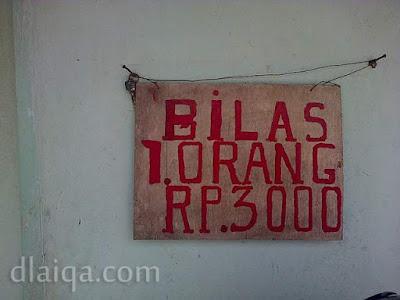 tarif bilas
