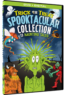 Trick or Treat Spooktacular Collection: 13 Haunting Tales DVD Review