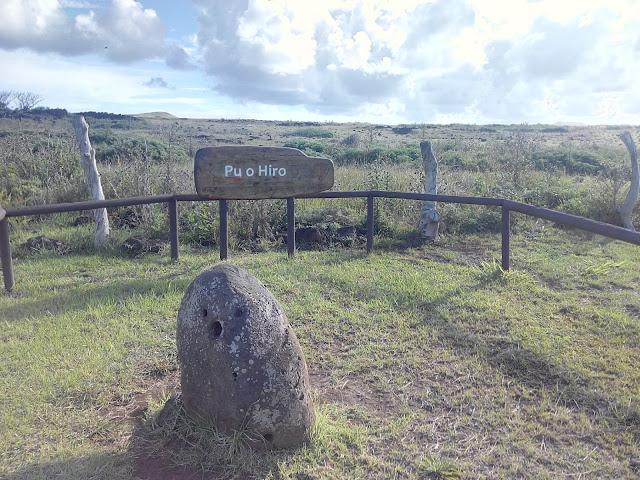 Pu o Hiro, Isla de Pascua