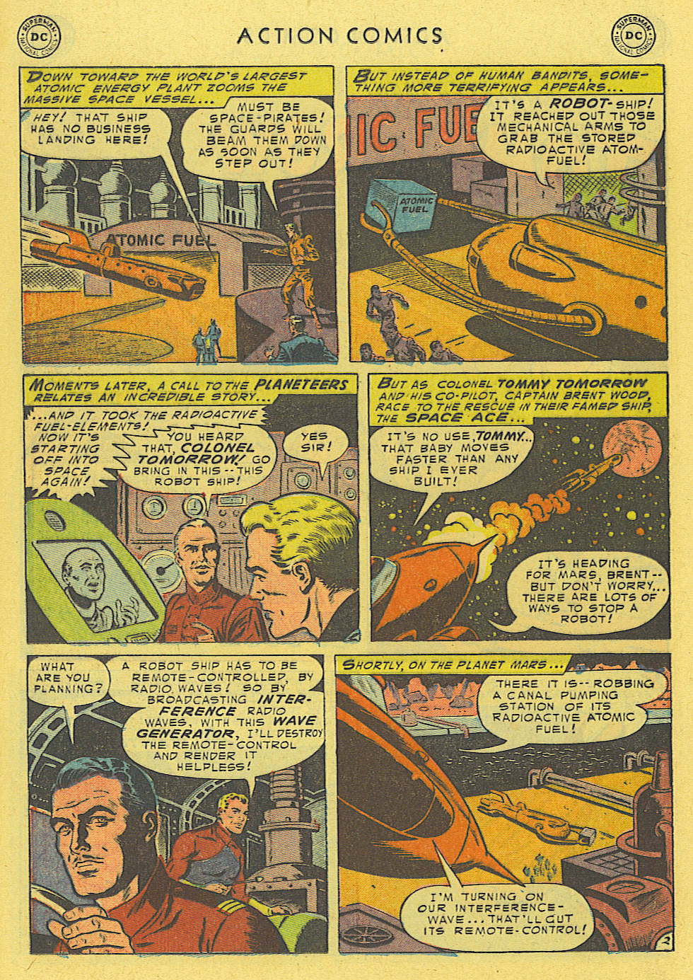 Read online Action Comics (1938) comic -  Issue #194 - 21