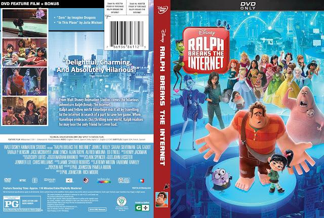 Ralph Breaks the Internet DVD Cover