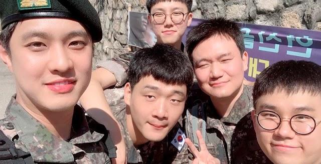 Seung Ho de MBLAQ ha sido oficialmente dado de baja del ejército