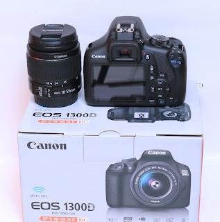 Canon EOS 1300D (EF-S 18-55 IS II) Baru Di Malang