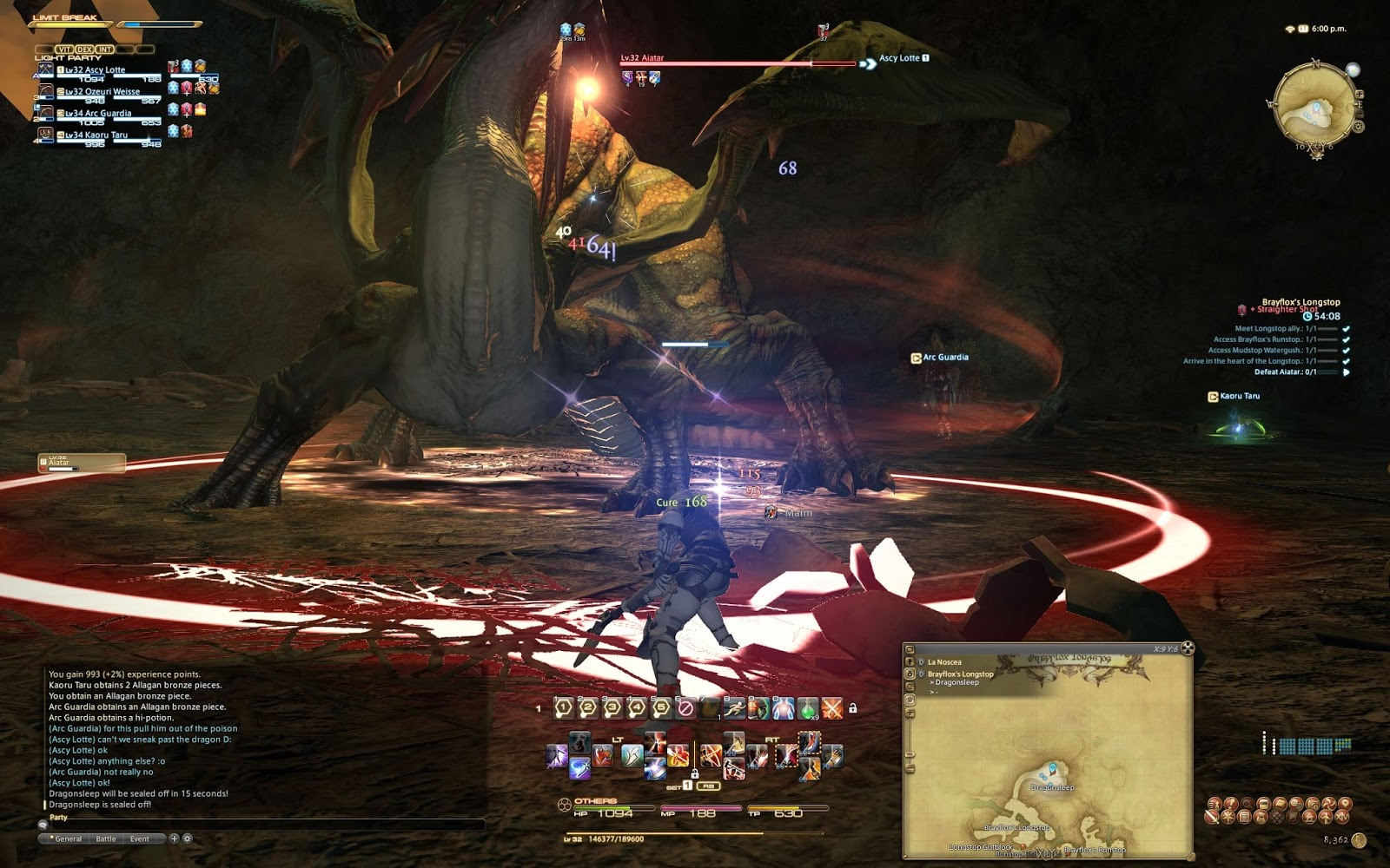 Ascule's Adventures: Another series of FFXIV beta pics!