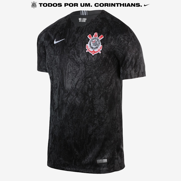 f0c96b2d2 Unique Nike Corinthians 18-19 Home   Away Kits Released - Footy ...